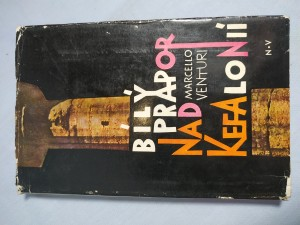 náhled knihy - Bílý prapor nad Kefalonií