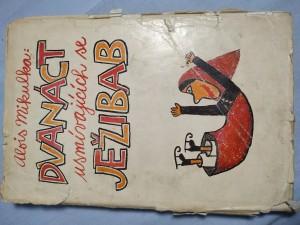 náhled knihy - Dvanáct usmívajících se ježibab : obrázky, pohádky, básničky a vyprávění pro malé i velké o ježibabách, zvířatech a jiných, velmi podivných věcech