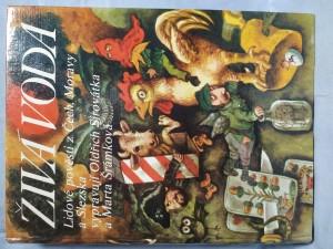 náhled knihy - Živá voda : lidové pověsti z Čech, Moravy a Slezska