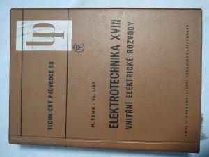 náhled knihy - Elektrotechnika. 18. [díl], Vnitřní elektrické rozvody