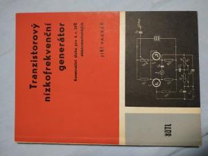 náhled knihy - Tranzistorový nízkofrekvenční generátor