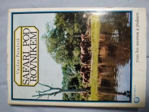 náhled knihy - Safari pod rovníkem : 7000 km savanou a pralesem