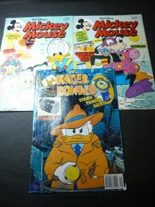 náhled knihy - Mickey Mouse 13/ 1994, 18/ 1995, kačer Donald 9/ 2000