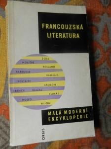 náhled knihy - Francouzská literatura : (Stručný nástin vývoje)