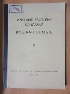 náhled knihy - Vybrané problémy současné byzantologie