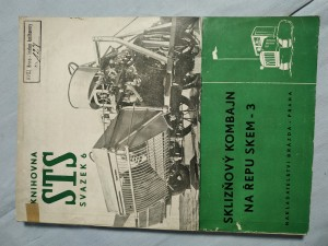 náhled knihy - Sklizňový kombajn na řepu SKEM-3: Uspořádání - montáž - použití - údržba