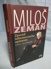 náhled knihy - Zpověď informovaného optimisty : rozhovor s Petrem Žantovským
