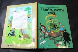 náhled knihy - Tintinova dobrodružství - 7 křišťálových koulí