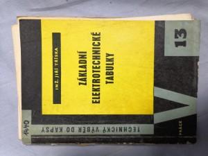 náhled knihy - Základní elektrotechnické tabulky : Určeno pro potř. kvalifikovaných elektromontérů a elektroúdržbářů v prům. zařízeních