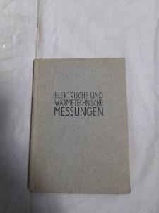 náhled knihy - elektrische und wärmetechnische messungen