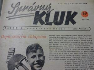 náhled knihy - 13 čísel časopisu – SPRÁVNÝ KLUK – 1.ročník – 1943