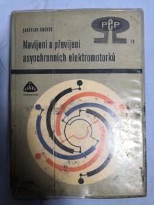náhled knihy - Navíjení a převíjení asynchronních elektromotorků
