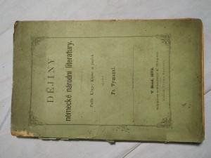 náhled knihy - Dějiny německé národní literatury