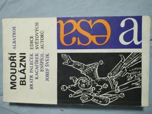 náhled knihy - Moudří blázni : knížka historek, pohádek, povídek a veršů o moudrém bláznovství a bláznivé moudrosti