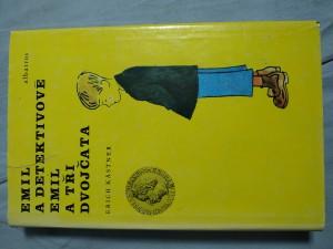 náhled knihy - Emil a detektivové ; Emil a tři dvojčata : Četba pro žáky zákl. škol : Pro čtenáře od 9 let