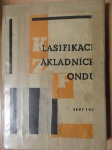 náhled knihy - Klasifikace základních fondů (prostředků) v ČSSR