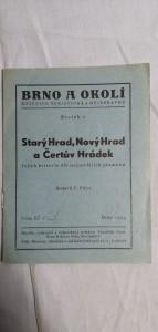 náhled knihy - Brno a Okolí Starý Hrad,Nový Hrad a Čertův Hrádek