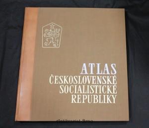 náhled knihy - Atlas Československé socialistické republiky