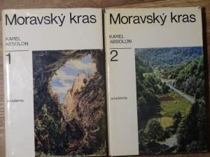 náhled knihy - Moravský kras. 1.  a 2. díl