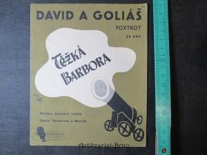 náhled knihy - David a Goliáš - Foxtrot ze hry Těžká Barbora