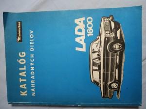 náhled knihy - Katalóg náhradných dielov Lada - 1600