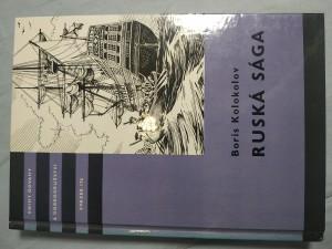náhled knihy - Ruská sága: pro čtenáře od 12 let