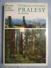 náhled knihy - Československé pralesy
