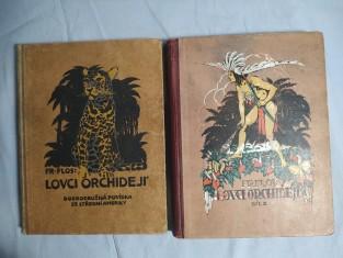 náhled knihy - Lovci orchidejí I a II: dobrodružná povídka ze střední Ameriky