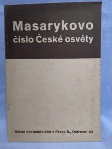náhled knihy - Masarykovo číslo České osvěty