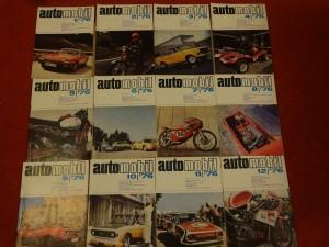 náhled knihy - časopis Automobil, kompletní ročník 1976