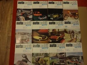 náhled knihy - časopis Automobil, kompletní ročník 1977