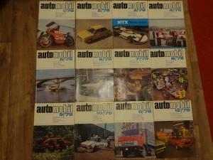 náhled knihy - časopis Automobil, kompletní ročník 1978