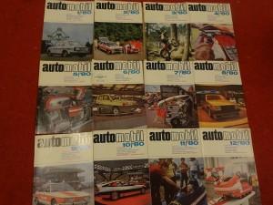 náhled knihy - časopis Automobil, kompletní ročník 1980