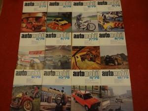 náhled knihy - časopis Automobil, kompletní ročník 1979