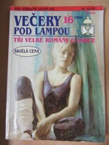 náhled knihy - Večery pod lampou 16, týdeník pro ženy : Tři velké romány o lásce