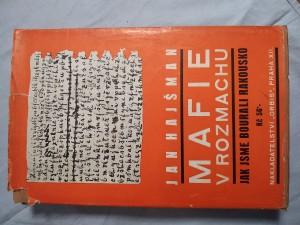 náhled knihy - Mafie v rozmachu : vzpomínky na odboj doma
