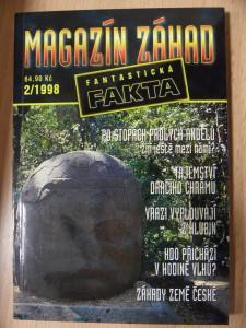náhled knihy - Magazín záhad : Po stopách padlých andělů, Tajemství dračího chrámu a jiné (2/1998)