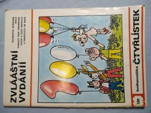 náhled knihy - Čtyřlístek: Zvlááštní vydání č.100