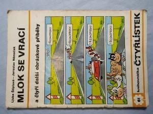 náhled knihy - Čtyřlístek: Mlok se vrací a čtyři další obrázkové příběhy č. 61