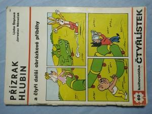 náhled knihy - Čtyřlístek: Přízrak hlubin a čtyři další obrázkové příběhy č. 60