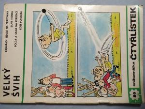 náhled knihy - Čtyřlístek: Velký švih č. 86