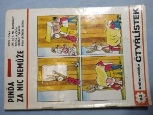 náhled knihy - Čtyřlístek: Pinďa za nic nemůže č. 83