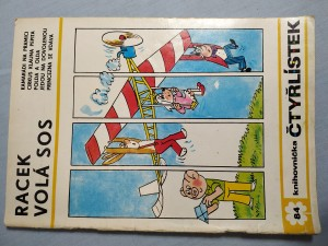 náhled knihy - Čtyřlístek: Racek volá SOS č. 84