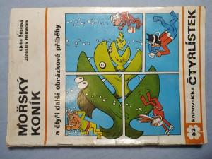 náhled knihy - Čtyřlístek: Mořský koník a čtyři další obrázkové příběhy č. 52