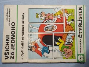 náhled knihy - Čtyřlístek: Všichni za jednoho a čtyři další obrázkové příběhy č. 72