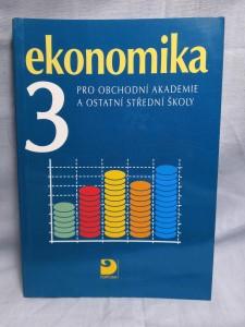 náhled knihy - Ekonomika 3 : pro obchodní akademie a ostatní střední školy