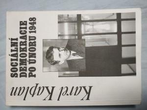 náhled knihy - Sociální demokracie po únoru 1948
