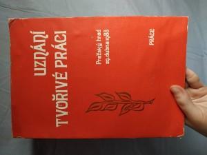 náhled knihy - Uznání tvořivé práci : Pražský hrad 29. dubna 1988