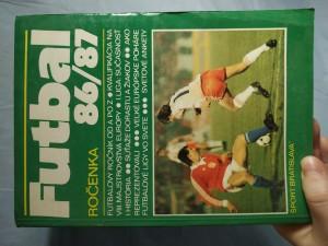 náhled knihy - Futbalová ročenka 1986/87