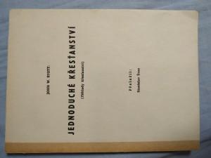 náhled knihy - Jednoduché křesťanství : Základy křesťanství
